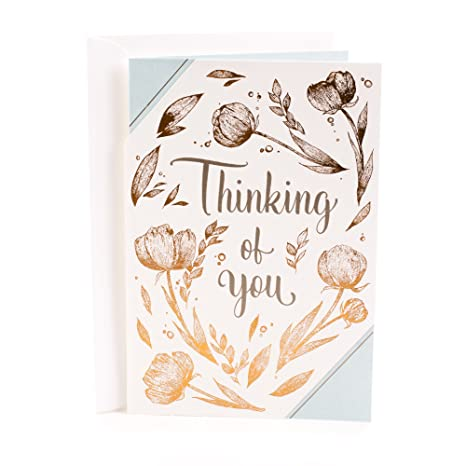 Amazon.com: Tarjeta de felicitación de la amistad Hallmark ...