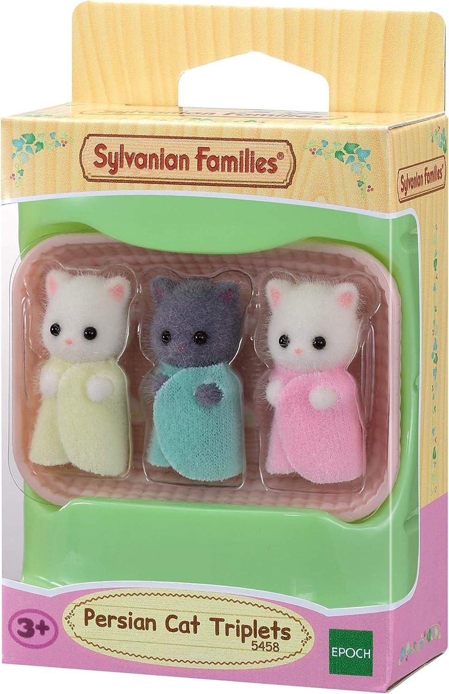 Sylvanian Families- Trillizos Gato Persa, Color (EPOCH 5458)