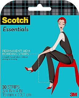 product image for Scotch Essentials Permanent Hem Bonding Strips, 30 Strips (W-107-A)