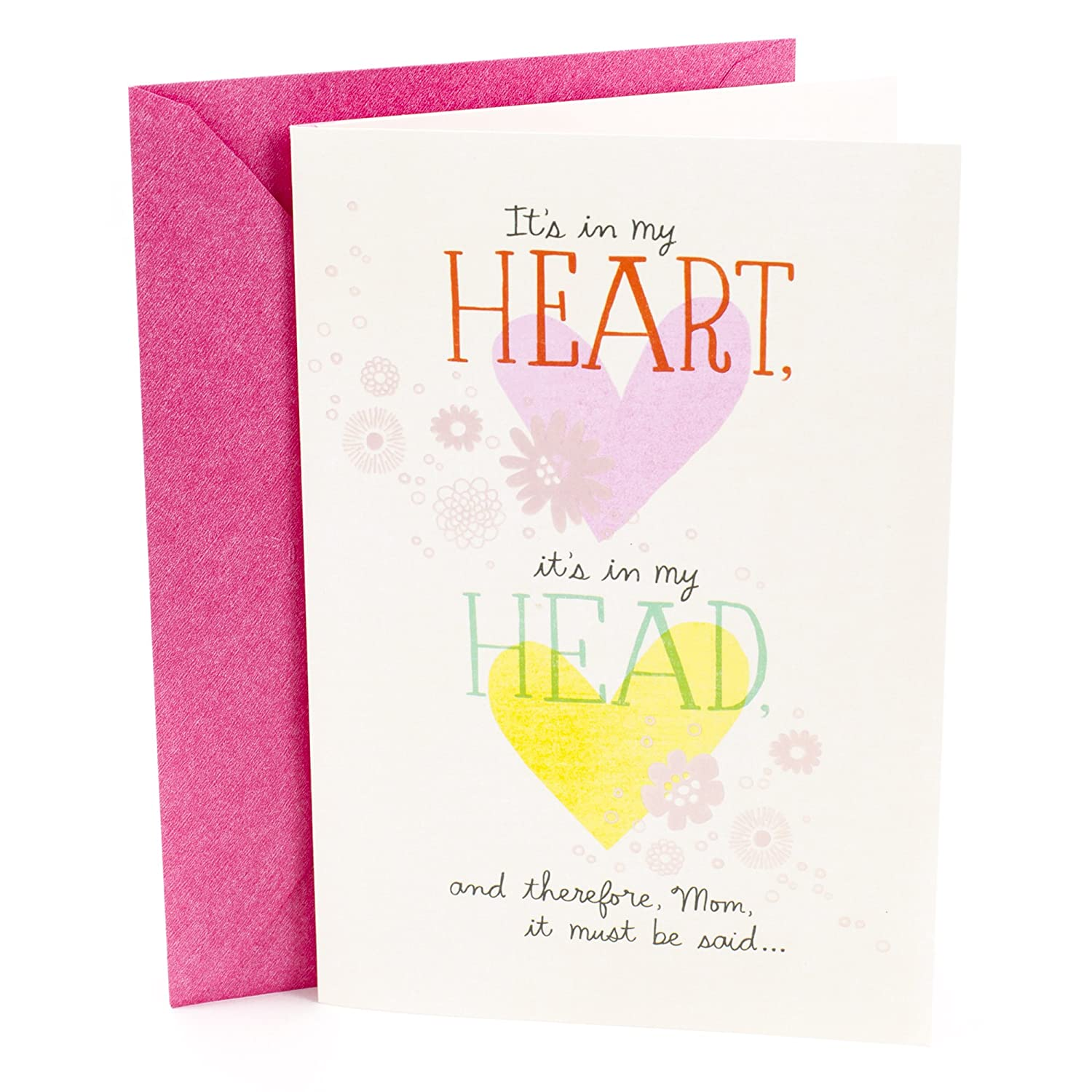 Amazon Hallmark Mothers Day Greeting Card With Music I Got