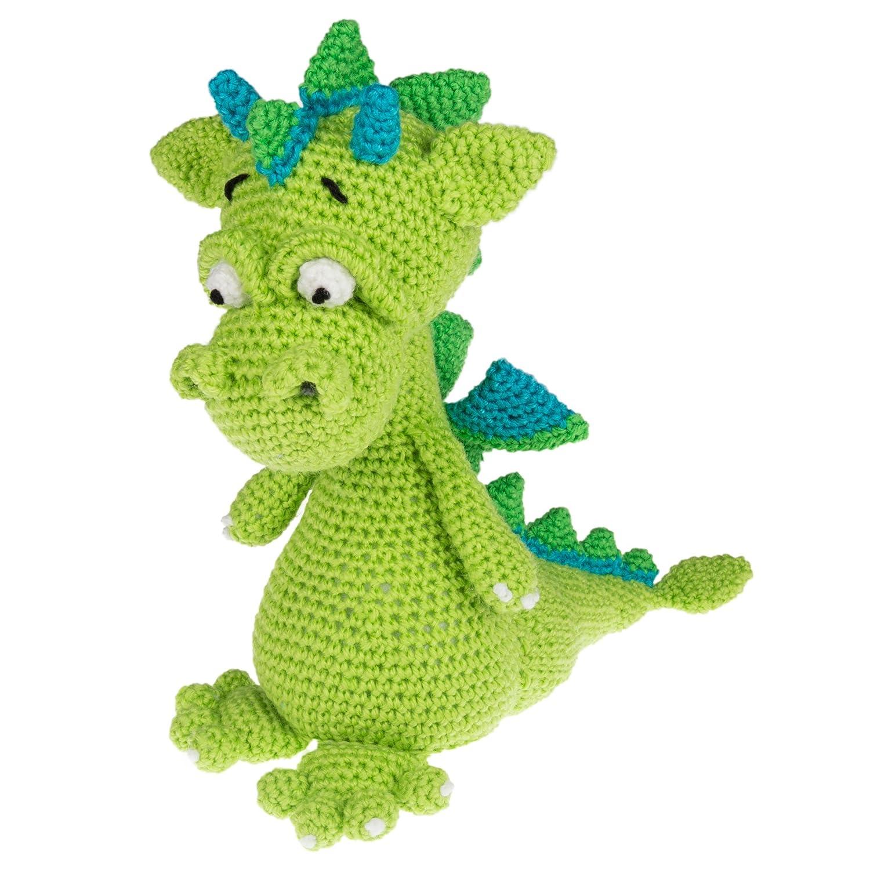 Craft To Go Crochet Kit - Dino Dragon Bartim