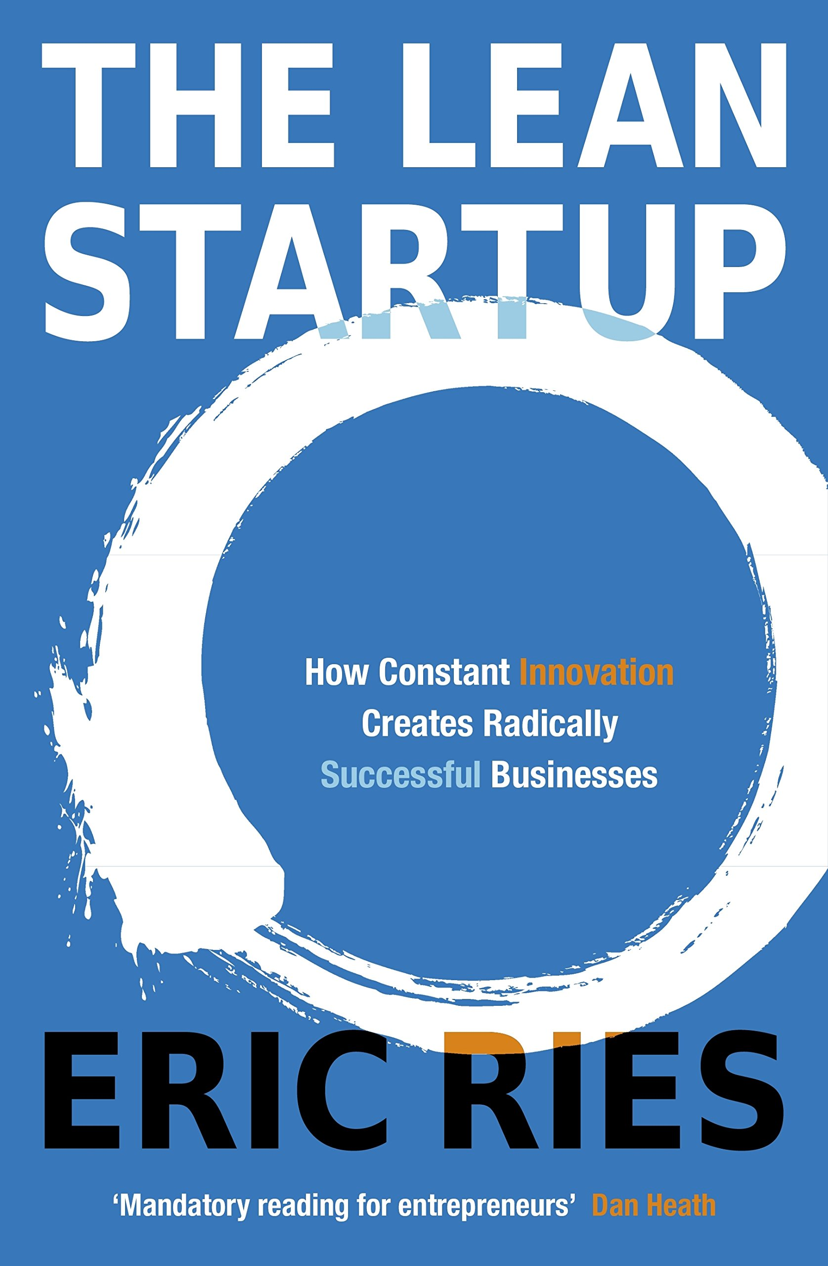 Lean Startup Entrepreneurs Continuous Innovation product image