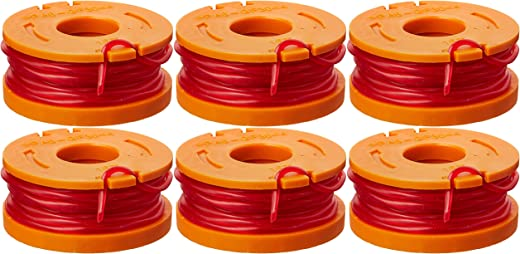 WORX WA0010 6-Pack Replacement Trimmer Line for Select Electric String Trimmers