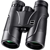 Hutact Binoculars for Adults, Compact for Bird Watching, 10X42 Professional Traveler HD , BAK4 FMC Coated Lens, Waterproof and Dustproof