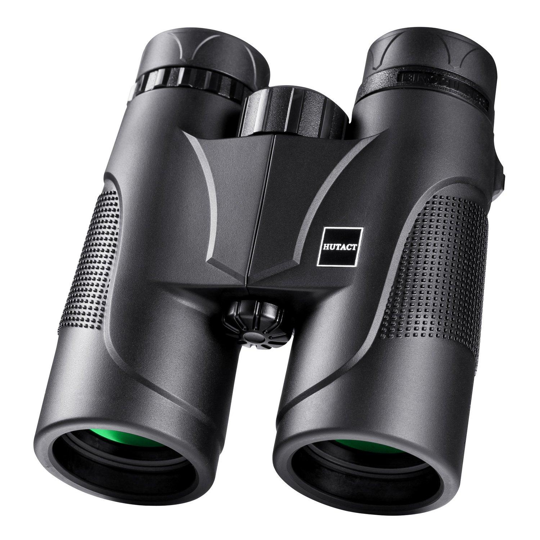 Prismáticos x de campo amplio HUTACT Binoculares Profesionales HD para viajeros para