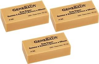 product image for General Pencil 136EBP Artist Gum Eraser- (3Pack)