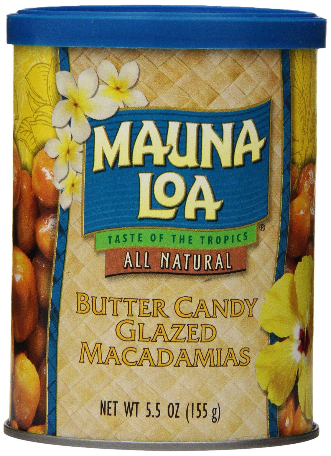 Mauna Loa Macadamias, Butter Candy Glazed, 5.5 Ounce Containers
