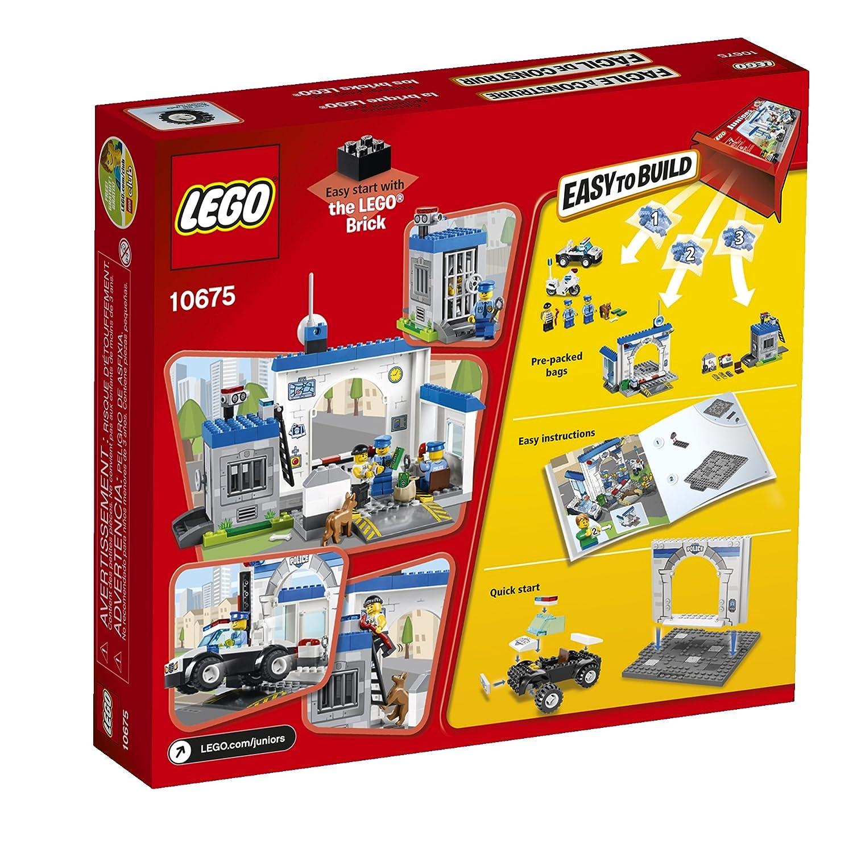 Amazon Lego Juniors 10675 Police The Big Escape Toys Games