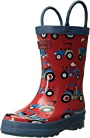 Hatley Boys' Classic Printed Rain Boots