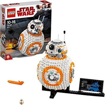 LEGO Star Wars - BB-8, Maqueta de Juguete del Robot de La Guerra de las Galaxias (75187)