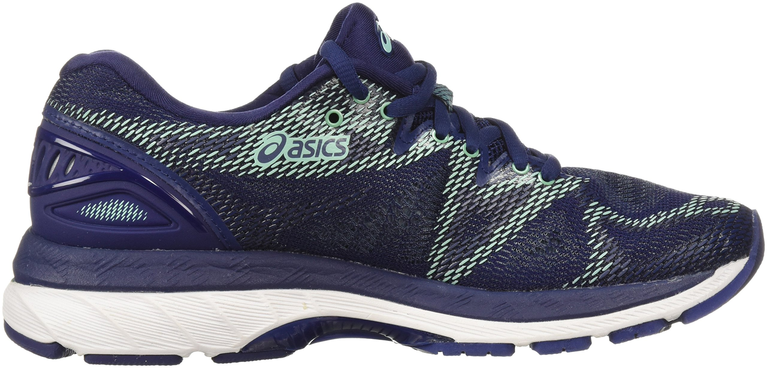 ASICS Women's Gel-Nimbus 20 Running Shoe, indigo blue/indigo blue/opal green, 12 D US by ASICS (Image #6)
