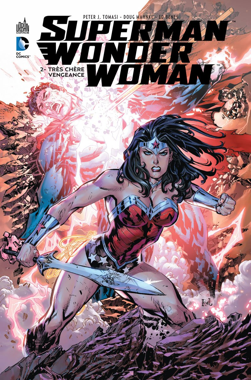 superman wonder woman comics
