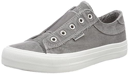 42xe201-790200, Sneakers Basses Femme, Gris (Grau 200), 39 EUDockers by Gerli