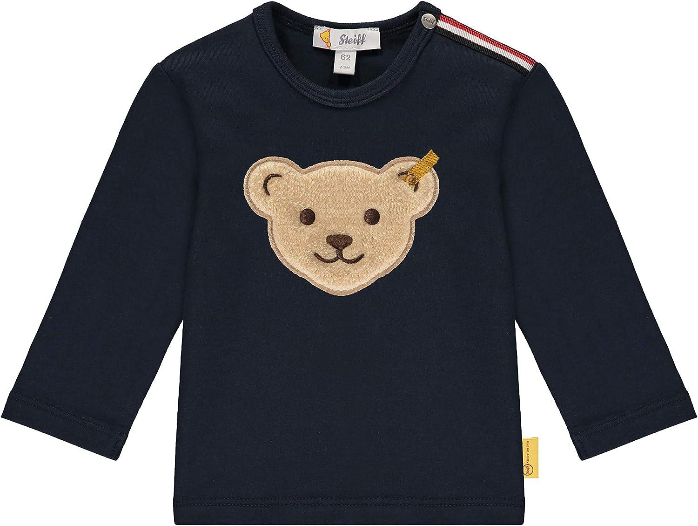 Steiff Baby-Jungen T-Shirt Langarm
