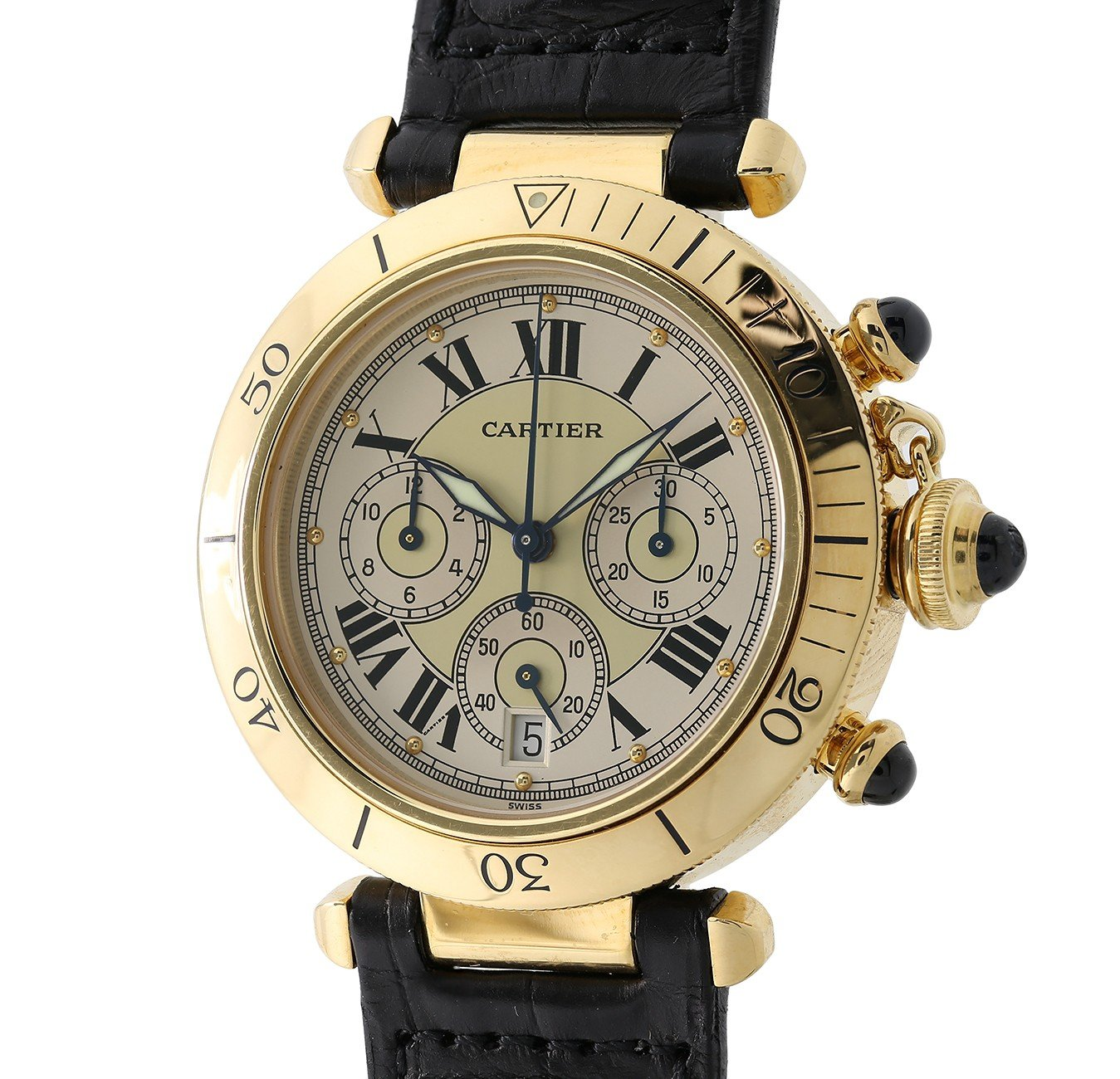 Cartier PASHA automatic-self-wind silver unisex-adult Watch 2111_ (Certified Pre-owned)