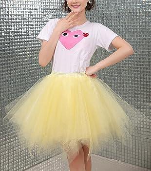 FEOYA Mujer Adultos Falda de Ballet Skirt Princesas Tutú de Tul ...