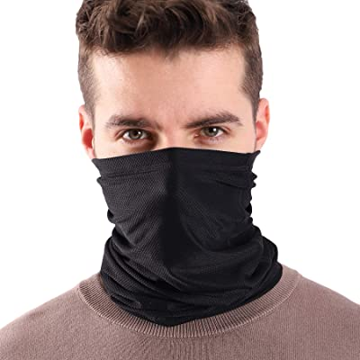 Thin Scarf for Men /& Women Multifunctional Cooling Face Shield Covering Bandana Elastic Motorcycle Headwear//Neckwear Neck Gaiter Warmer Magic Stretchy Neck Tube for Dust Wind Sun Protection