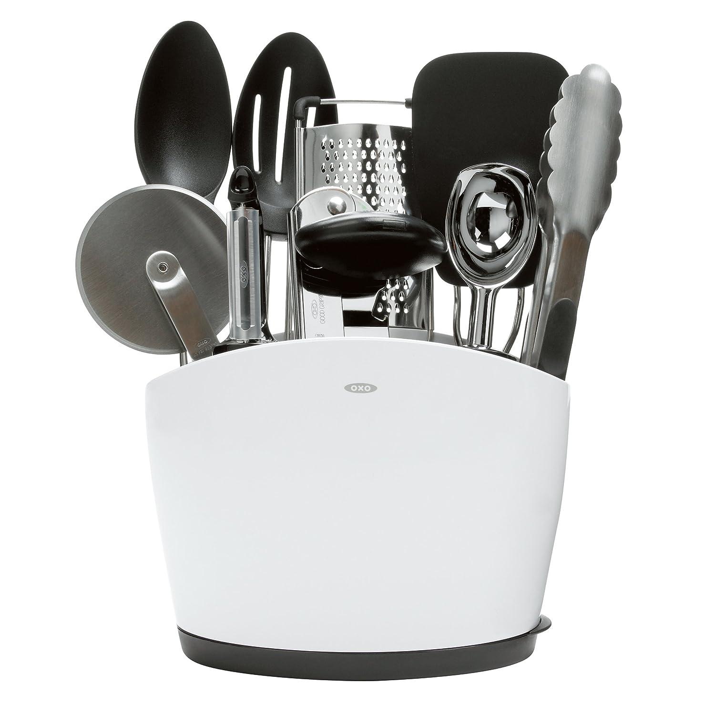 Superieur Amazon.com: OXO 1129400 Good Grips 10 Piece Everyday Kitchen Tool Set,  Stainless Steel: Oxo Set Utensils: Kitchen U0026 Dining