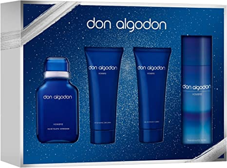 DON ALGODON pack colonia 100 ml + gel 75 ml + aftershave 75 ml + ...