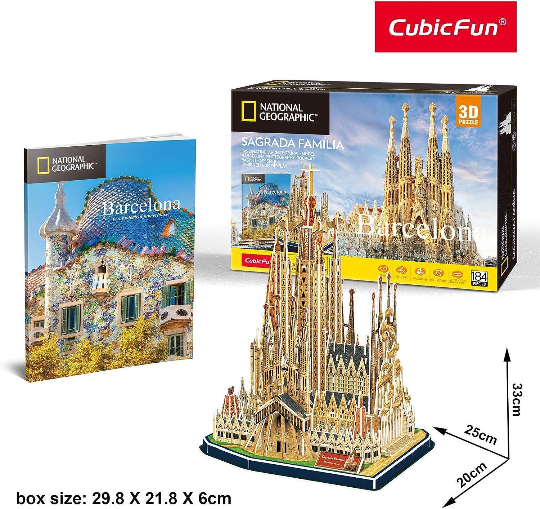CubicFun Puzzle 3D Sagrada Familia (Tachan DS0984h): Amazon.es ...
