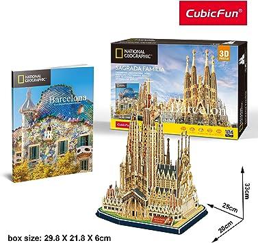 World Brands- Puzzle 3D Sagrada Familia (Tachan DS0984h): Amazon.es: Juguetes y juegos