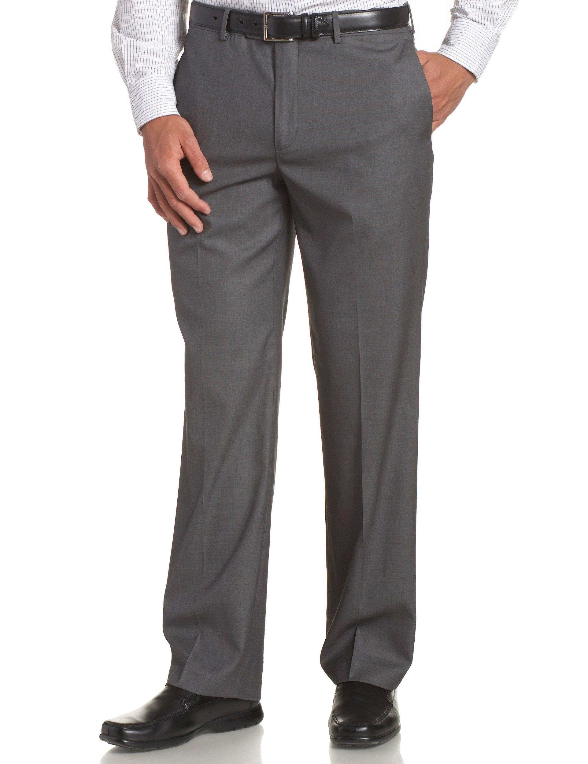Perry Ellis Mens Modern Fit Bengaline Pant Dress Pants