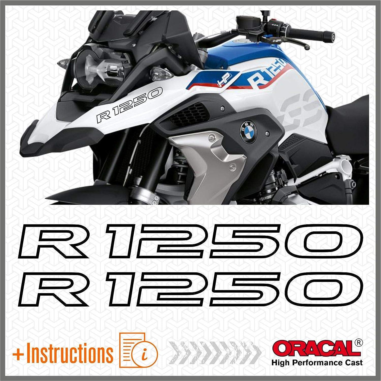 2pcs Adesivi R1250GS compatibile con R1250 GS R 1250 HP Motorrad 2019 Adventure Giallo
