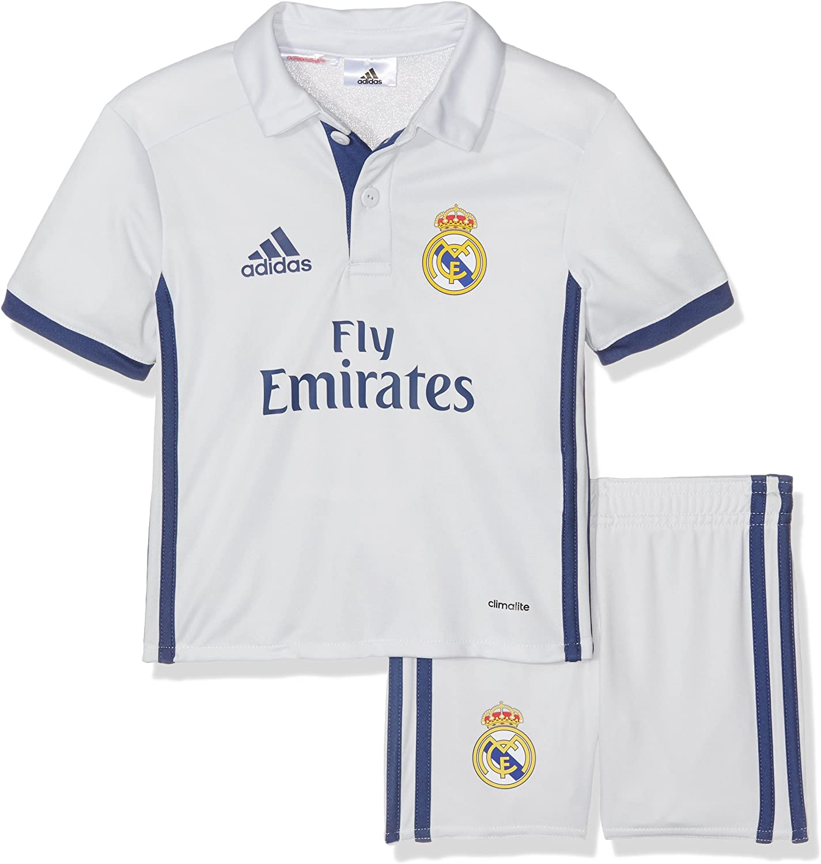 adidas Real Madrid CF 2015/16 H Mini Conjunto Jugador, Niños: Amazon.es: Ropa y accesorios