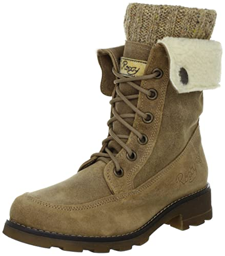 Wpwsl263 Schuhe Roxy Jenny Leder BrownBotas Militares Para Brn rhtsCxBQd