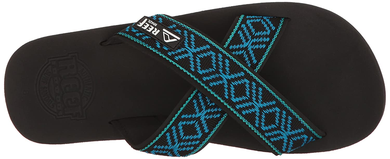 Reef schwarz/Blau Herren Sandalen Crossover Sandalen schwarz/Blau Reef eea8e9