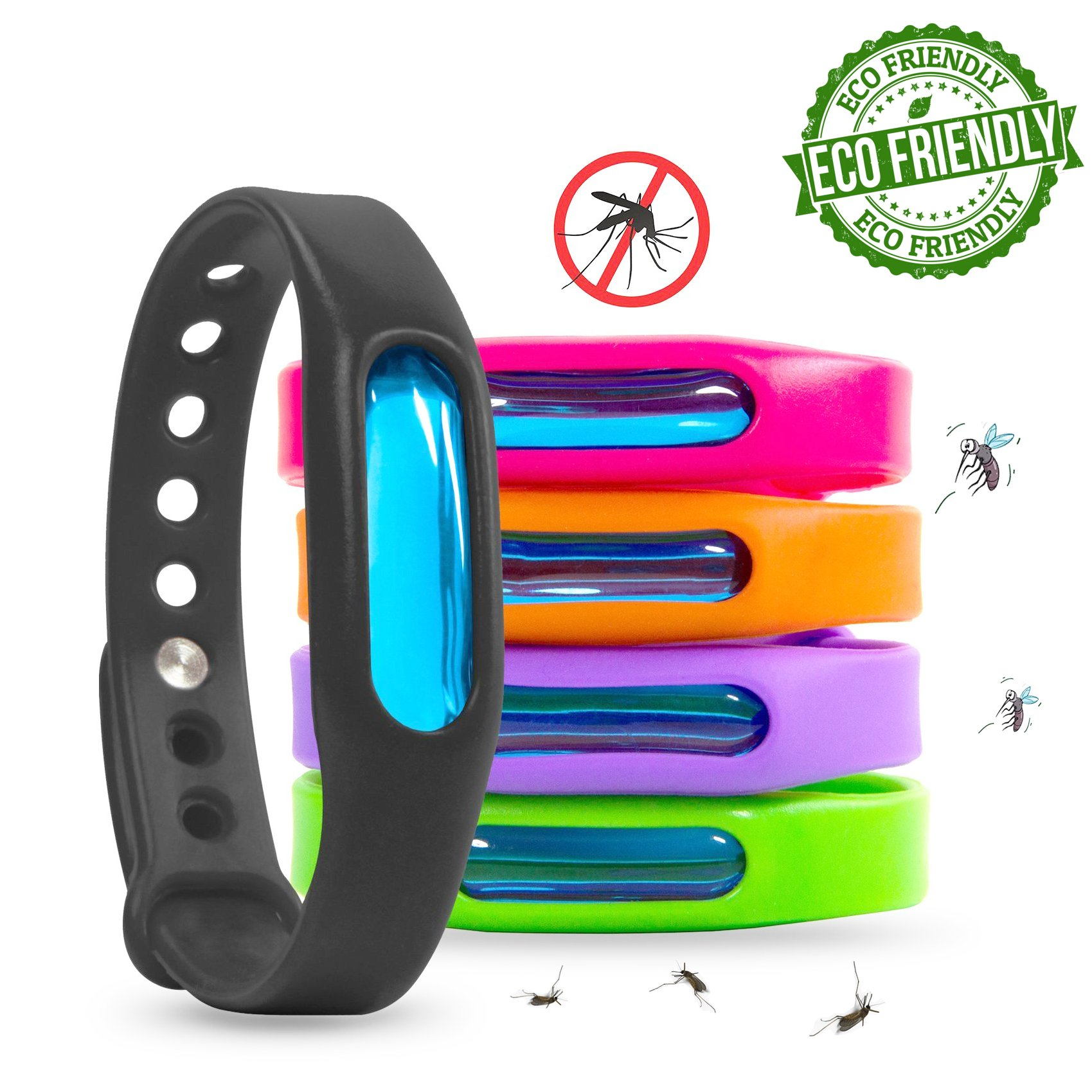 Mosquito Repellent Bracelet For Kids, Adults & Pets Bug Repellent