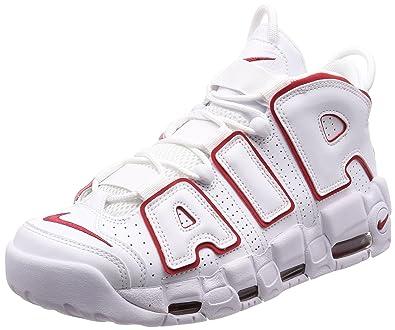 quality design 75b52 2e1f7 Nike Unisex Schuhe Niedrige Turnschuhe 921948 102 Air More Uptempo  96  Größe 44 Bianco -