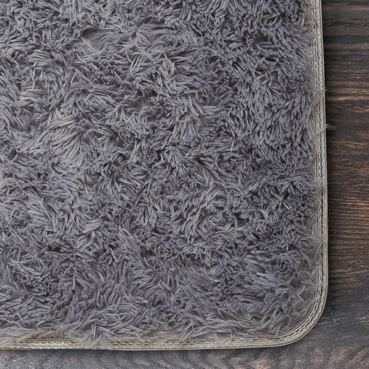 Supmaker Non-Slip Soft Area Rugs for all Seasons and any Style of Home, Great Decorative Rug / Carpet for Home Decorate, Children Play, Women yoga etc. (Color: Gray)