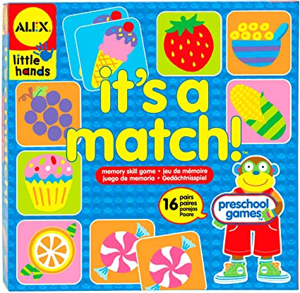 ALEX Toys Little Hands Its A Match