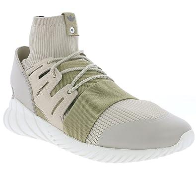 3bad50f8d83b adidas Originals Tubular Doom Primeknit Men s Sneaker Beige BA8722 ...