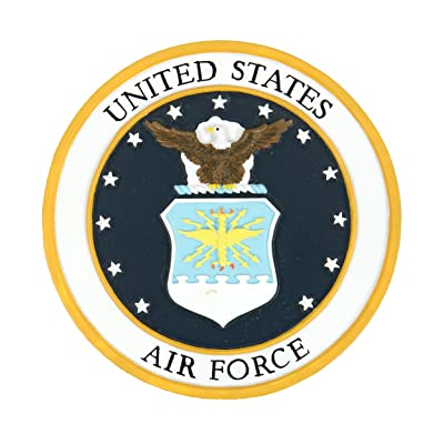Red Carpet Studios Military Plaque, Air Force : Garden & Outdoor