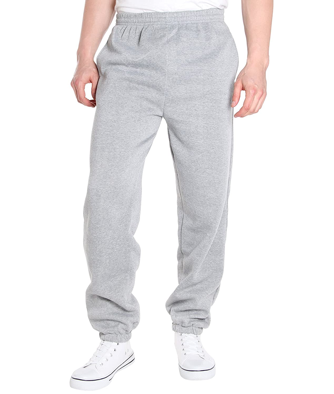 KRISP Mens Jogger Pants Joggings Trousers Tracksuit Bottoms Solid Fleece 7831