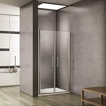 195 cm Mampara de ducha puerta colgante nichos Puerta Puerta 6 mm Nano EchtGlas A2: Amazon.es: Bricolaje y herramientas