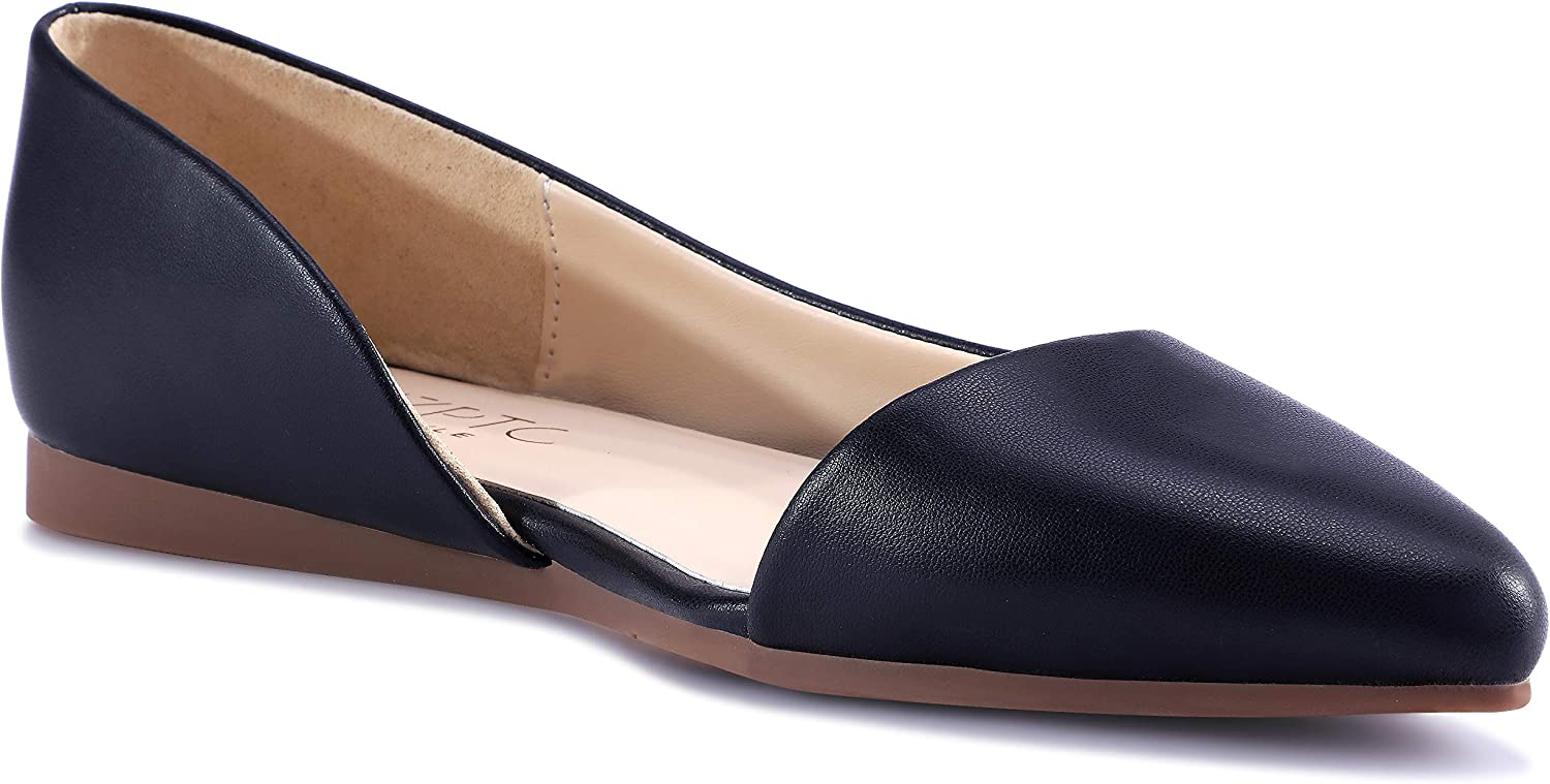 Comfort Casual Pointed Toe Ballet Flats