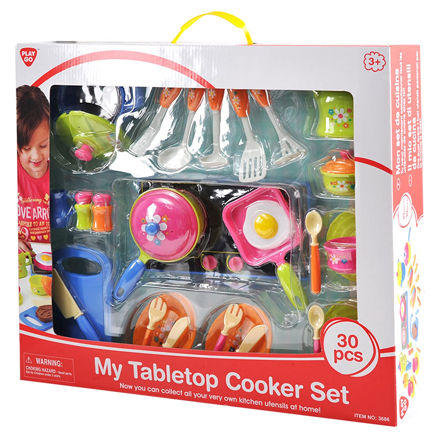 PlayGo My Tabletop Cooker Set (30-Piece)