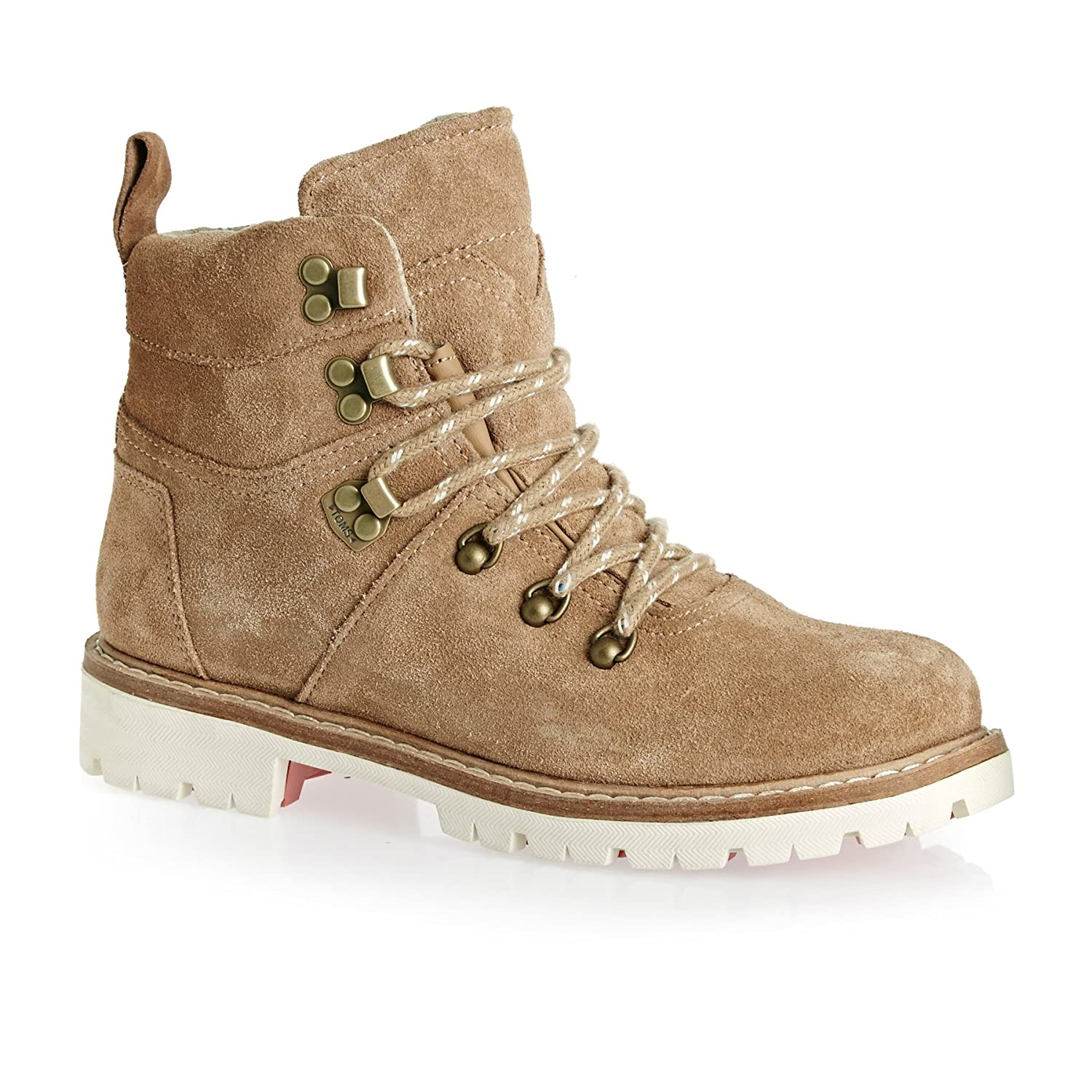 d021ab197b2 TOMS Womens Toffee Brown Summit Hiker Boots-UK 8  Amazon.co.uk  Shoes   Bags