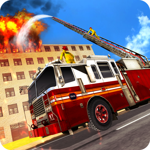 Fire Truck Driving Rescue 911 Fire Engine Games]()