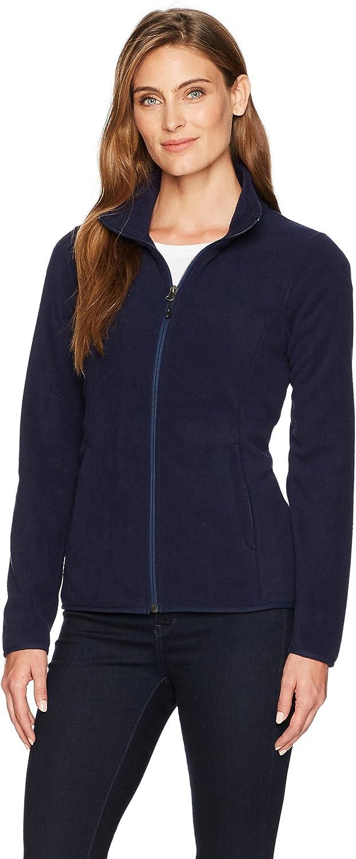 Amazon Essentials Women's Classic Fit Long-Sleeve Full-Zip Polar Soft Fleece Jacket