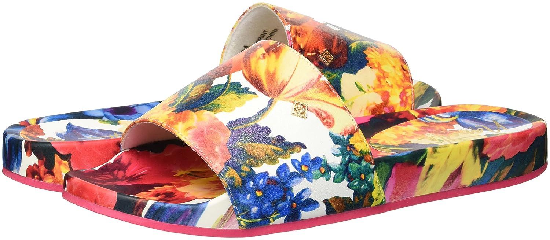 Nanette Lepore Women's Miriam_Print Slide Sandal B079J8P86H 11 B(M) US Pink Floral