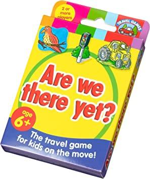 Are We There Yet? The Travel Game for Kids on the Move!