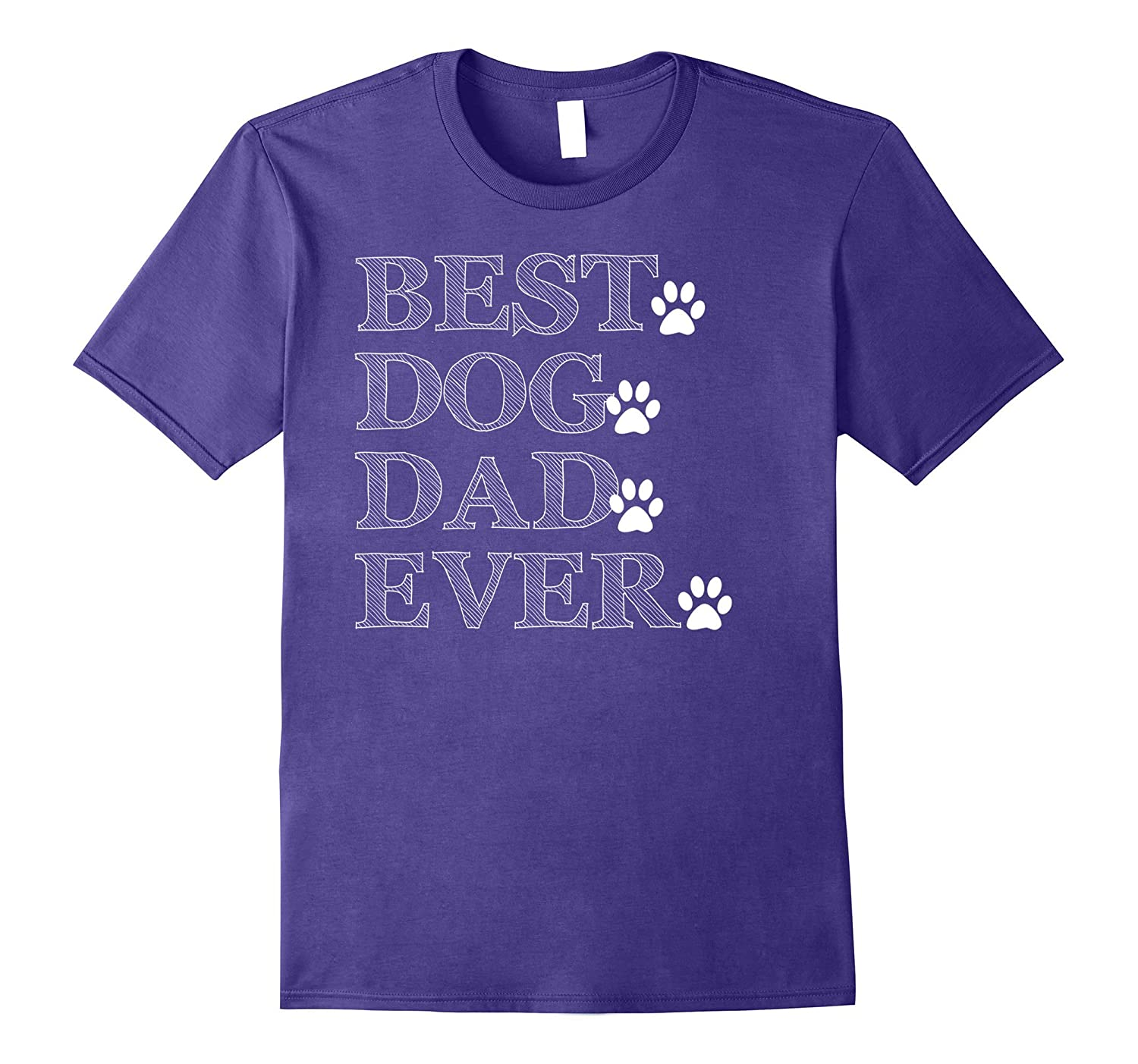 Best dog dad ever T shirt fathers day gift