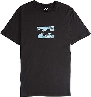 BILLABONG™ - Camiseta de Manga Corta - Hombre - S - Negro: Amazon.es: Ropa y accesorios