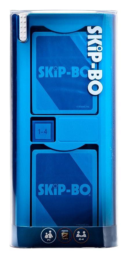 Amazoncom Mattel Games Skip Bo Mod Card Game Toys Games