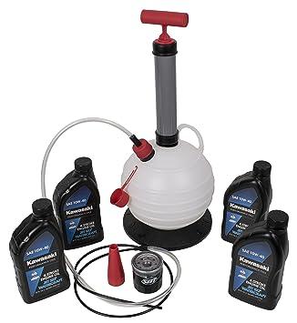 Amazon.com: Kit de cambio de aceite para Kawasaki, 4 Stroke ...
