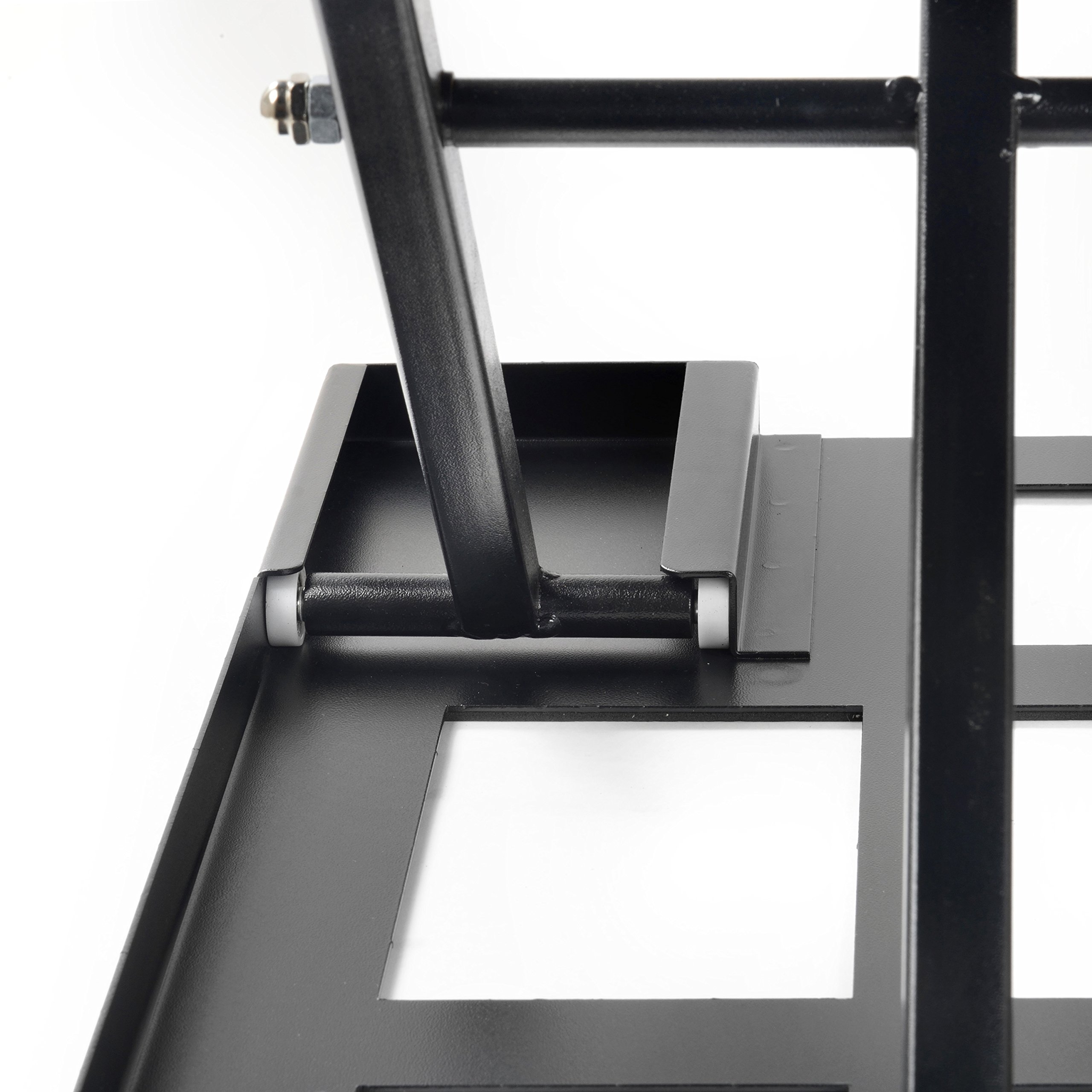 Best Standing Desk, Adjustable Height Riser Converter, Stand Up or Sit Down, 32'' Black Office Desktop, Computer Monitor & Laptop Workspace, Unlimited Ergonomic Positions for Better Health, Casiii UP32 by Casiii (Image #7)